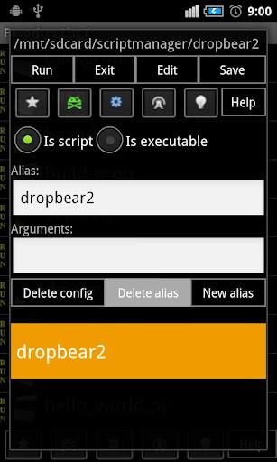 Script Manager-SManager(NoAds)  screenshots 2