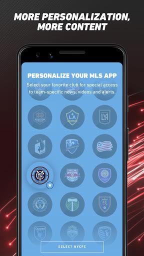 MLS: Live Soccer Scores & News Latest screenshots 1