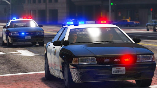 Police Cop Chase Racing: City Crime android2mod screenshots 1