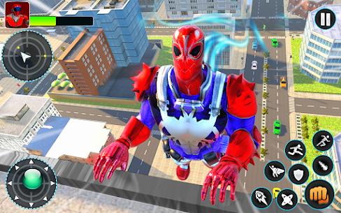 Flying Robot Hero – Crime City Rescue Robot Games 6