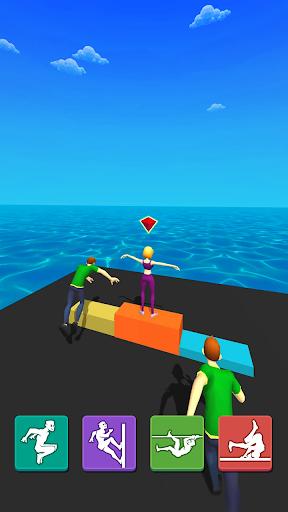 Parkour Race: Epic Run 3D screenshots 14