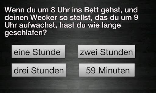 Idiotentest - Deutsch 2.1 screenshots 2
