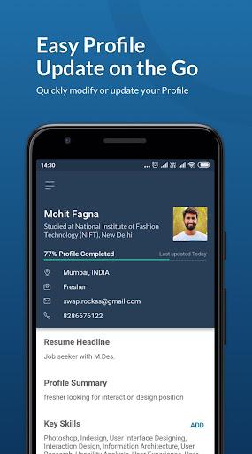 Naukri.com Job Search App: Search jobs on the go! 15.4 Screenshots 6