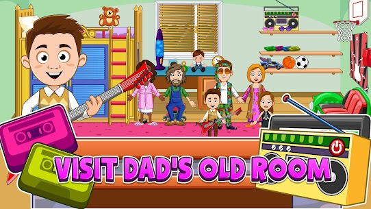 My Town : Grandparents Free For Android (MOD, Unlimited Money) 2