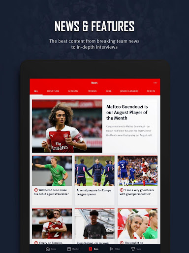 Arsenal Official App 6.0.3 Screenshots 13