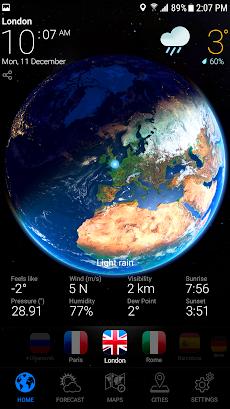 WEATHER NOW-天気予報のおすすめ画像1