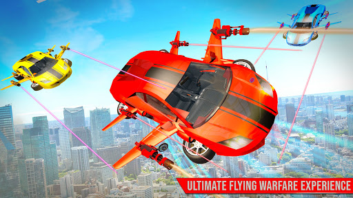 Flying Robot Car Games - Robot Shooting Games 2020 2.3 Screenshots 2