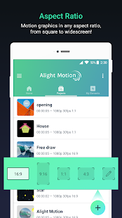 Alight Motion – Video- und Animationseditor Screenshot