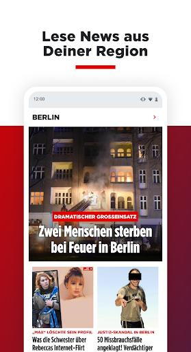 BILD News: Alle aktuellen Nachrichten von heute  screenshots 5