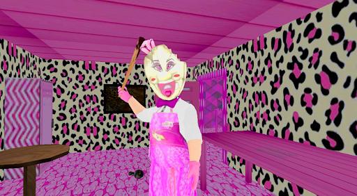 Granny Ice Scream Barbi: The scary Game Mod screenshots 1
