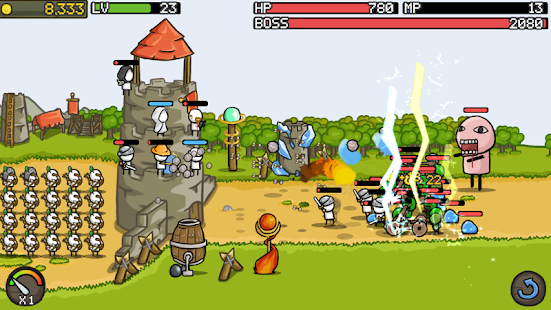 Grow Castle - Tower Defense 1.32.5 APK + Mod (Unlimited money) for Android