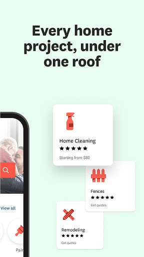 Angi: Find Pros for Home Improvement & Repairs  screenshots 2