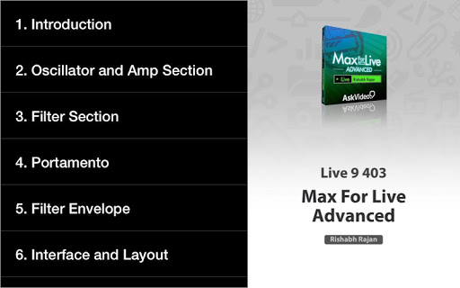 Adv. Course for Max For Live For PC Windows (7, 8, 10, 10X) & Mac Computer Image Number- 10