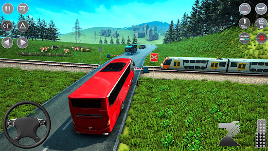 City Coach Bus Driving Simulator: Free Bus Game 21 1.0.6 screenshots 1