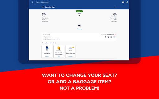 Air France - Airline tickets 5.1.0 Screenshots 9