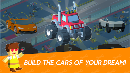 Idle Mechanics Manager – Car Factory Tycoon Game 1.29 screenshots 2