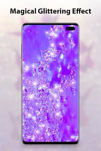 Glitter Live Wallpaper android2mod screenshots 1