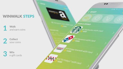 Pedometer winwalk - walk, sweat & win egift cards  Screenshots 7