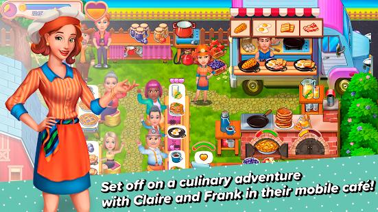 Claire's Café: Tasty Cuisine 🥞🧁🍔 1.2323 screenshots 1