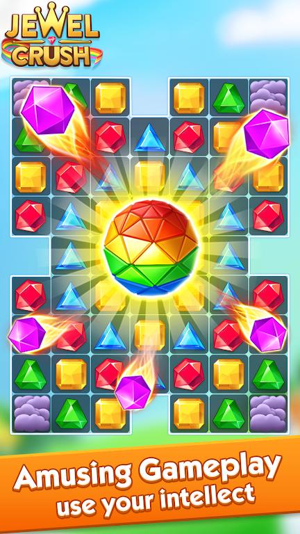 Jewel Crush™ - Jewels & Gems Match 3 Legend  poster 11