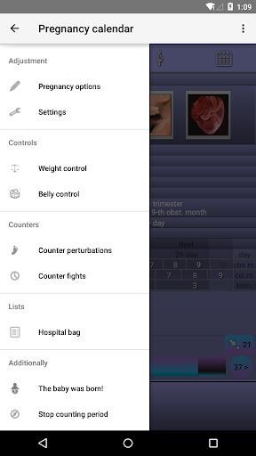 Pregnancy Calendar 2.5.1 Screenshots 4