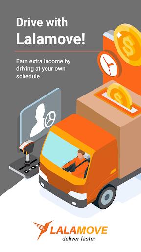 Drive with Lalamove India - Earn Extra Income 4.855.123972 Screenshots 1