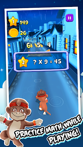 Toon Math: Endless Run and Math Games 1.9.5 screenshots 2