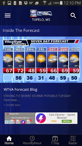 WTVA Weather 5.3.705 screenshots 1