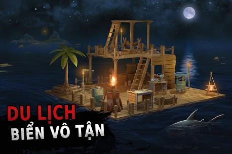Tải Raft Survival: Ocean Nomad MOD APK 1.181 (không giới hạn số tiền) 1