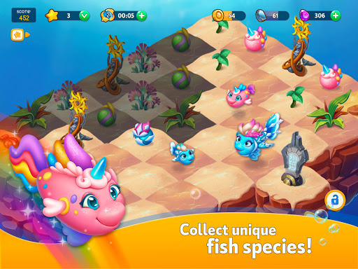Sea Merge! Fish Aquarium Game & Ocean Puzzle  screenshots 15
