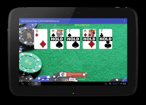 Five Card Draw Poker 1.20 screenshots 12