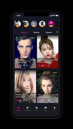 online live chat, video, meet, date new people app screenshot 3