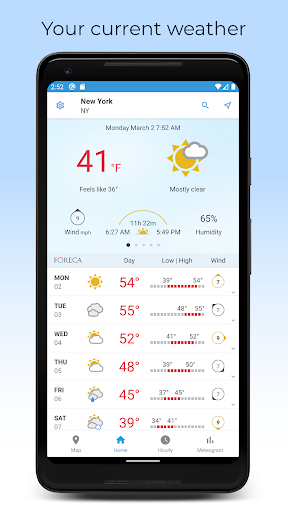 Foreca Weather 4.24.3 Screenshots 1