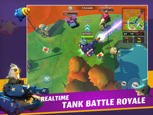 PvPets: Tank Battle Royale 1.4.1.10225 screenshots 8
