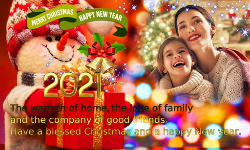 2021 Christmas Greetings Photo Frames 1.0.3 Screenshots 7