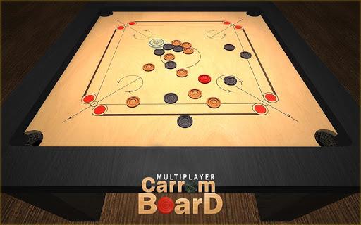 Multiplayer Carrom Board : Real Pool Carrom Game  screenshots 1