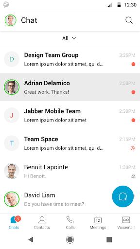 Cisco Jabber modavailable screenshots 2