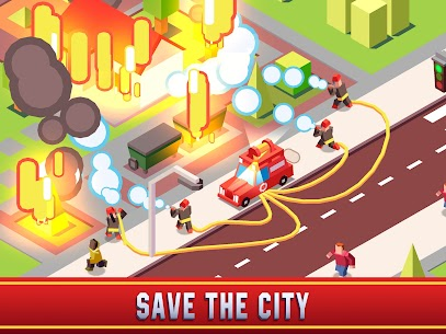 Idle Firefighter Empire Tycoon Mod Apk- Management Game (Unlimited Money) 7