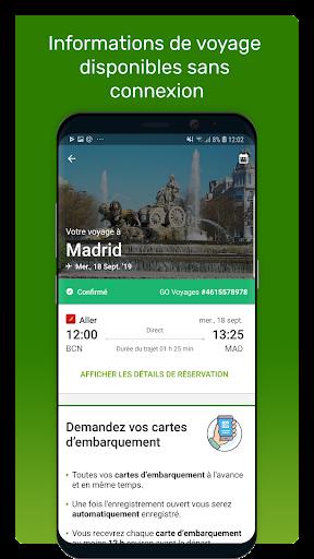 Go Voyages: Ru00e9server des vols et voyages pas chers 4.206.0 Screenshots 6