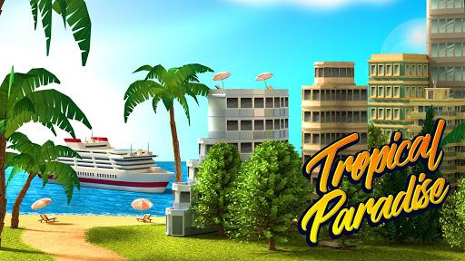 Tropic Paradise Sim: Town Building Game apklade screenshots 1