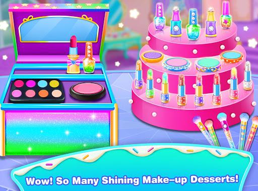 Girl Makeup Kit Comfy Cakesu2013Pretty Box Bakery Game 1.3 Screenshots 4