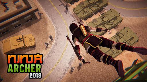 Ninja Archer Assassin FPS Shooter: 3D Offline Game  screenshots 1