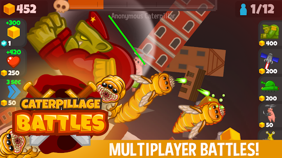 Caterpillage Screenshot