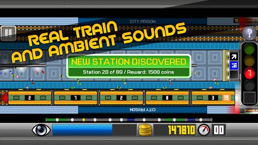Subway Simulator 2D - city metro train driving sim apkpoly screenshots 7
