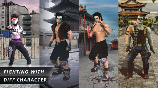 Kung fu street fighting game 2020- street fight 1.13 screenshots 7