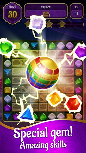 Genies & Gold - Match 3 Jewel & Gem Adventure 1.2.6 screenshots 3