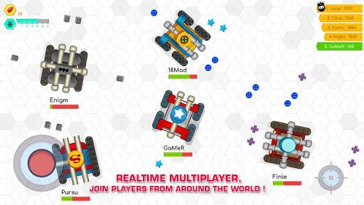 Tank War Battle .io - Multiplayer Games 4.5 screenshots 2