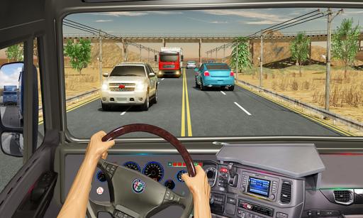 traffic highway truck racing - truck driving screenshot 3