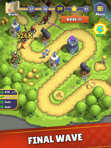 Mini War:Idle Tower Defense Varies with device screenshots 17