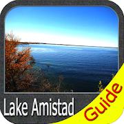Lake Amistad GPS Map Navigator  Icon